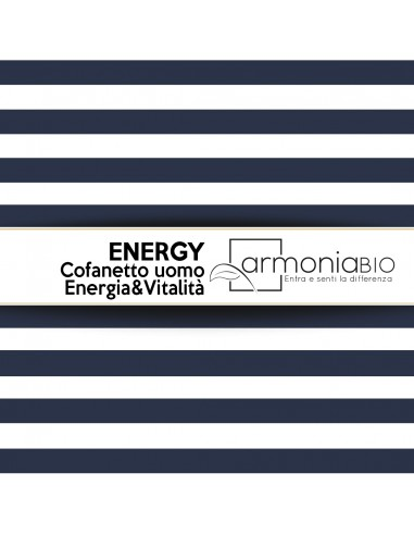 ENERGY - Cofanetto uomo Energia&Vitalità